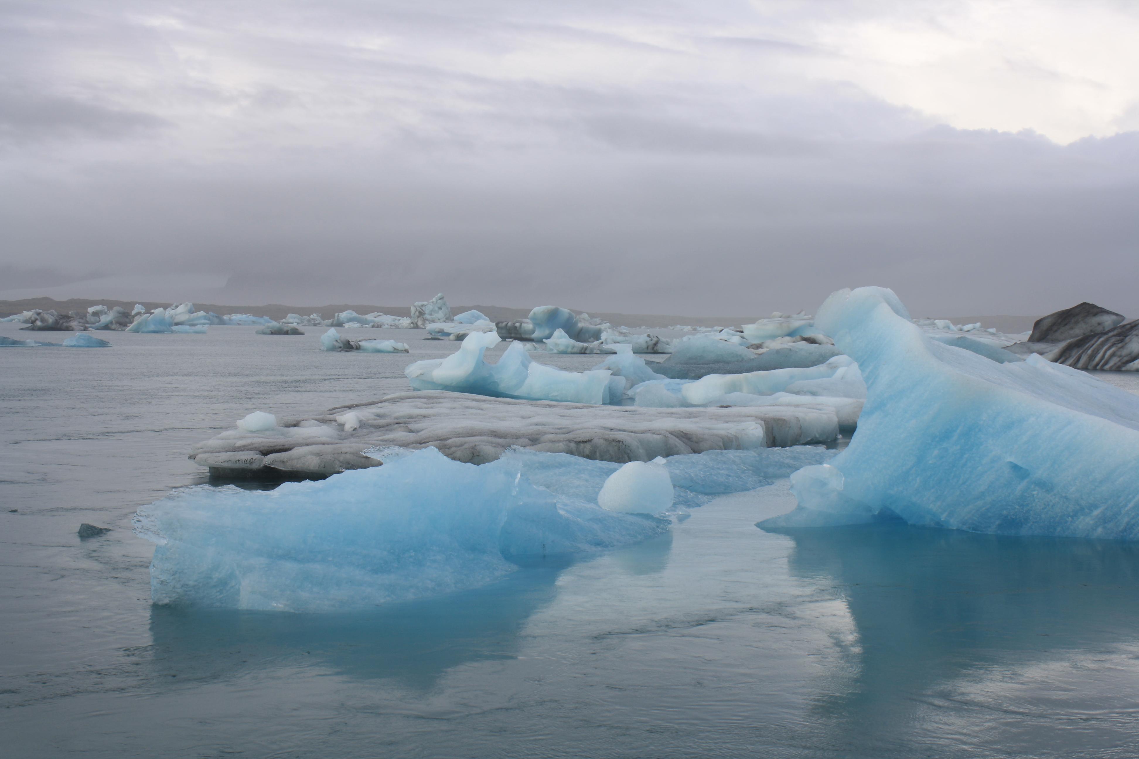 Jokulsarlon, Iceland the glacier lagoon