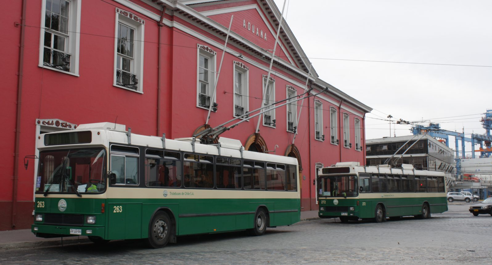 Trolley bus, , Valparaiso, Chile