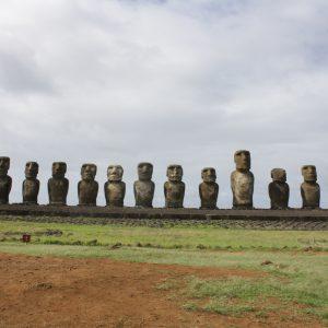 Ahu Tongariki - The largest platform on the island