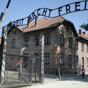 Arbeit Macht Frei - Work Makes You Free: Contradictory words atop the gates to Auschwitz I