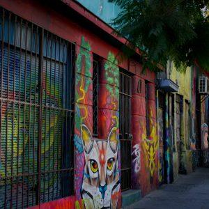 Barrio Brasil, Chile, Santiago