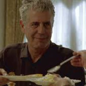 Bourdain in No Reservations