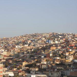 Colourful chaos, Valparaiso, Chile