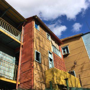 Colourful houses in Caminito, La Boca