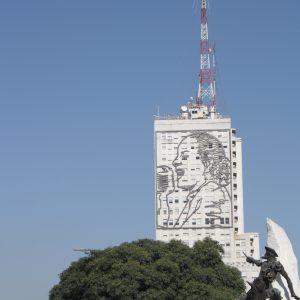 Evocative image of Evita, Buenos Aires