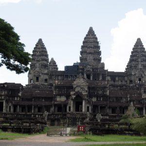 Rear facade of the Angkor Wat