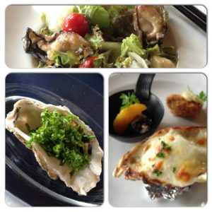Hiroshima oysters at Oyster Conclave Kaki-tei