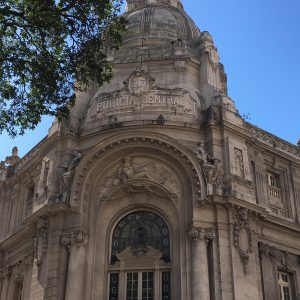 Striking architecture in central Rio, Rio de Janeiro, Brazil