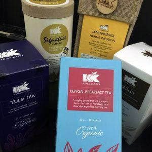 An assortment of KK Teas