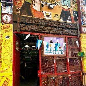 Quaint little empanada shop, San Telmo, Buenos Aires