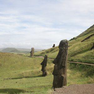 The Moai at Rano Raraku