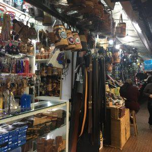 Stalls line the streets of Ciudad del Este