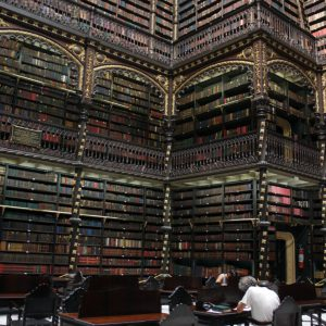 The Royal Portugese Reading Room, Rio de Janeiro, Brazil