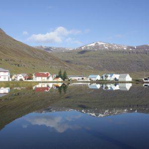 Seydisfjordur Iceland Town