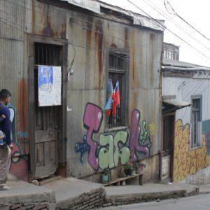 Valparaiso Chile Buildings